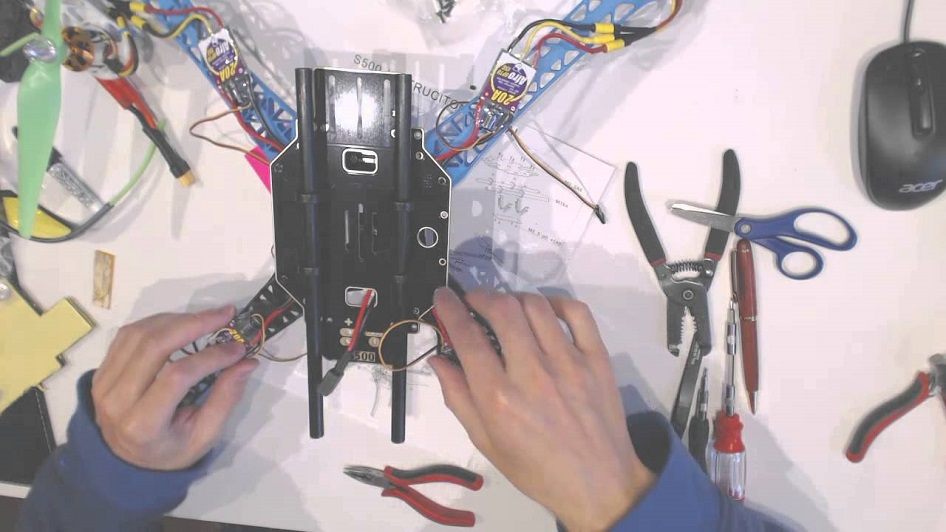build a drone from scratch